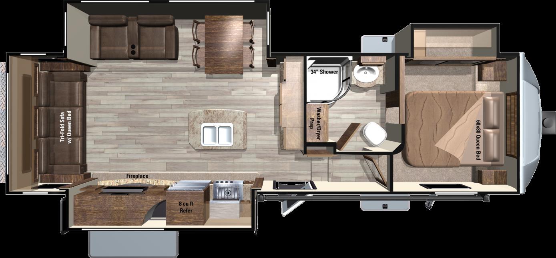 LF293RLS Floorplan