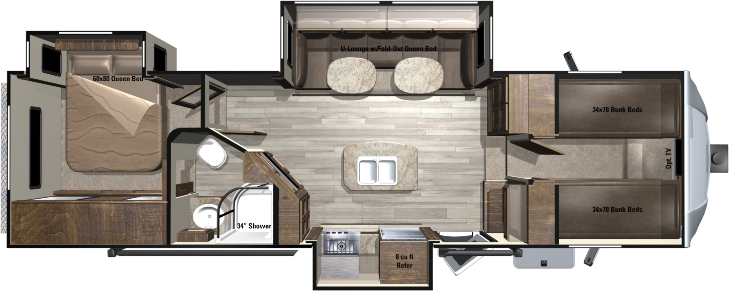 LF295FBH Floorplan