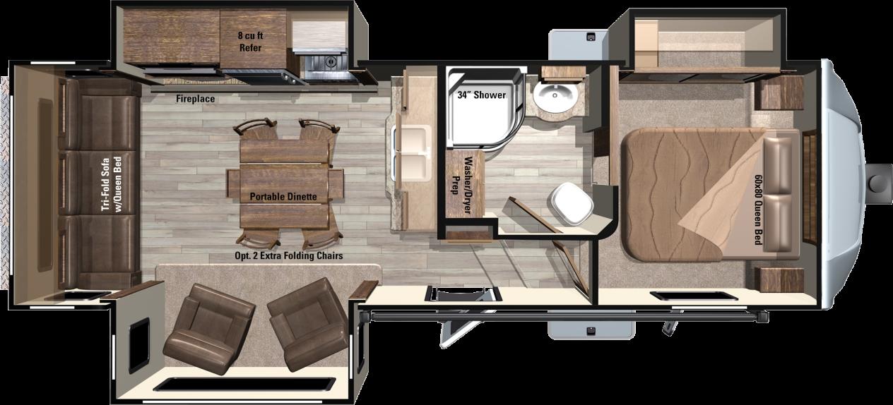 LF297RLS Floorplan