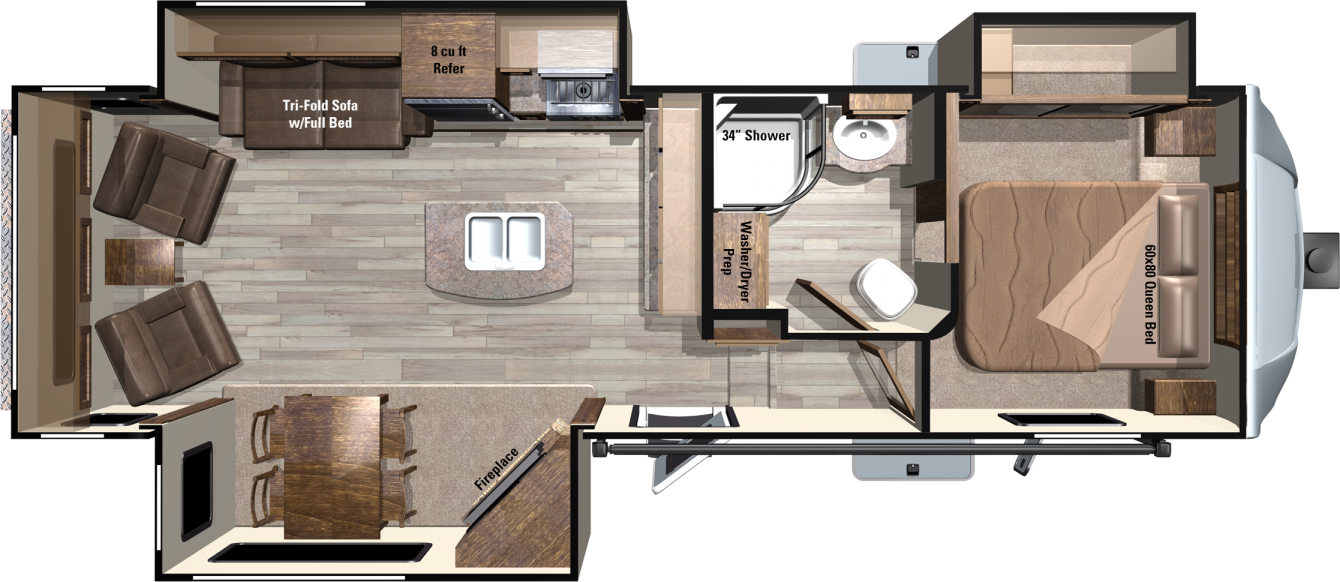 LF318RLS Floorplan