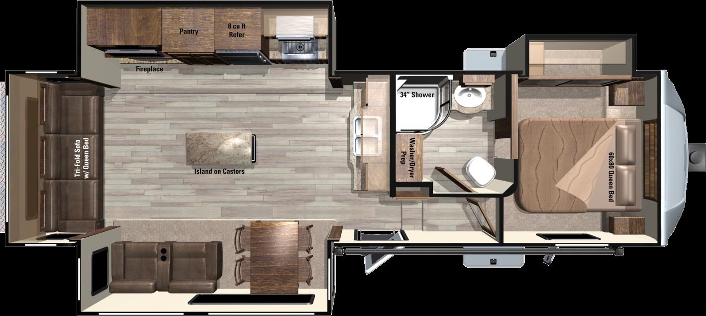 LF319RLS Floorplan