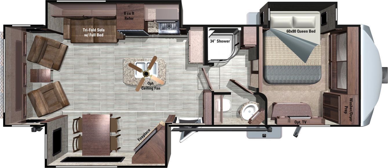 MF316RLS Floorplan