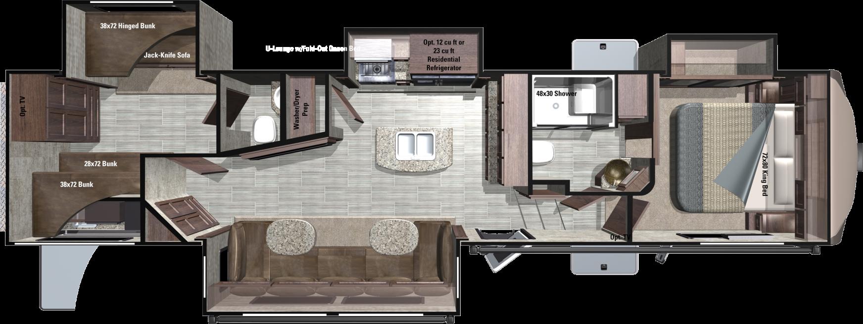 RF374BHS Floorplan