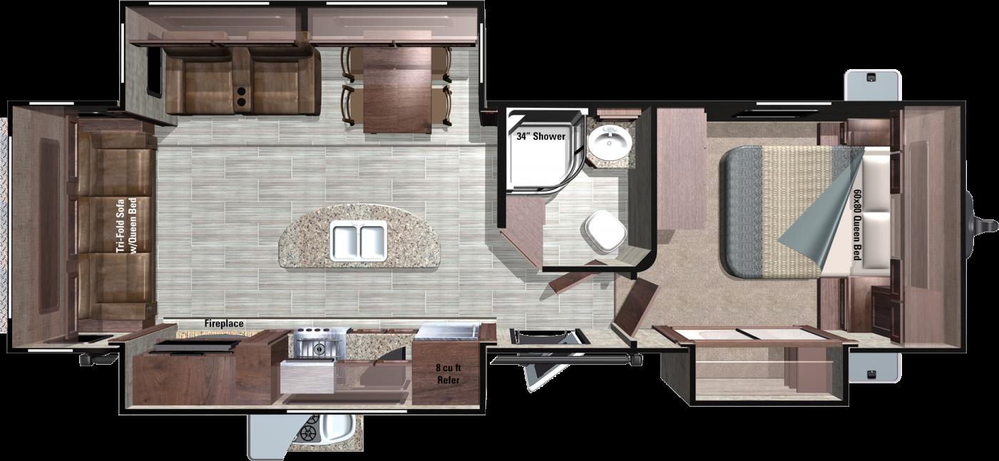MR292RLS Floorplan