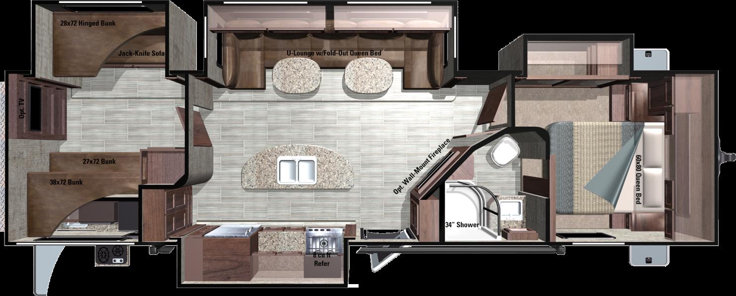 MR310BHS Floorplan