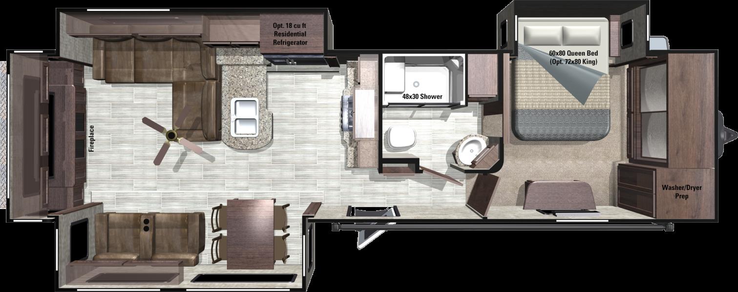 MR324RES Floorplan