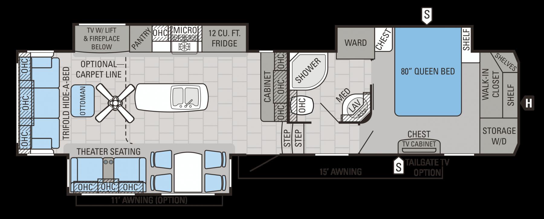341RLTS Floorplan