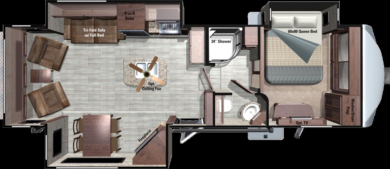 RF316RLS Floorplan