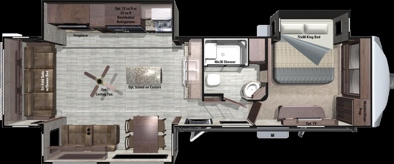RF348RLS Floorplan