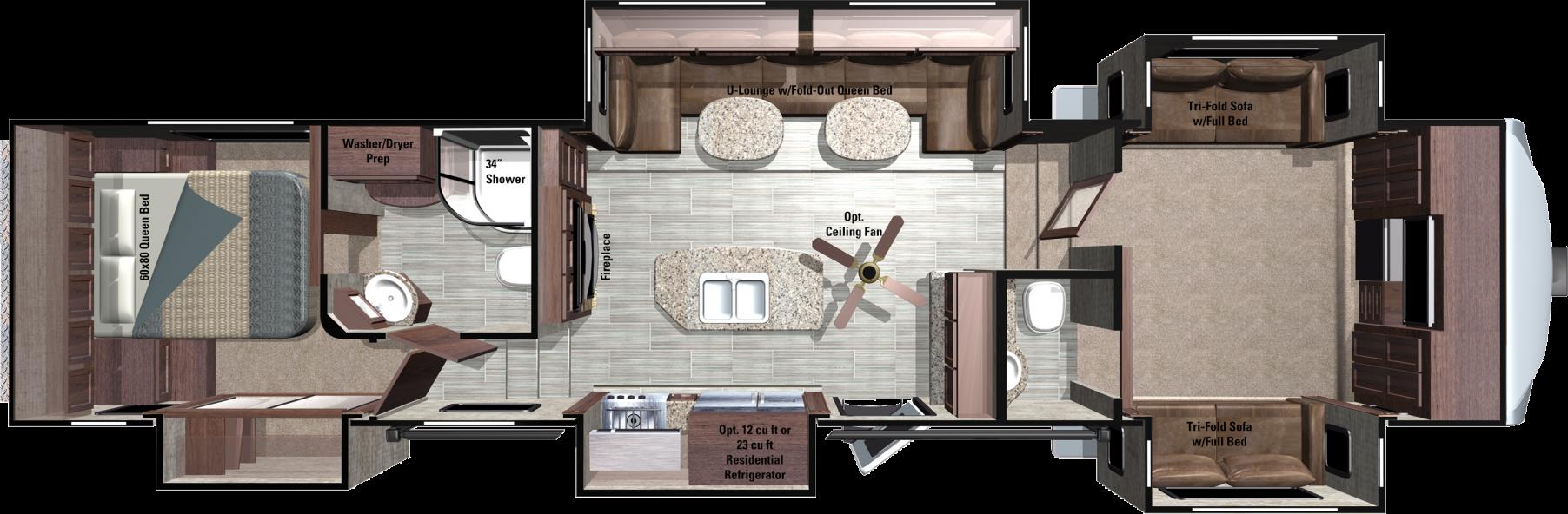RF376FBH Floorplan