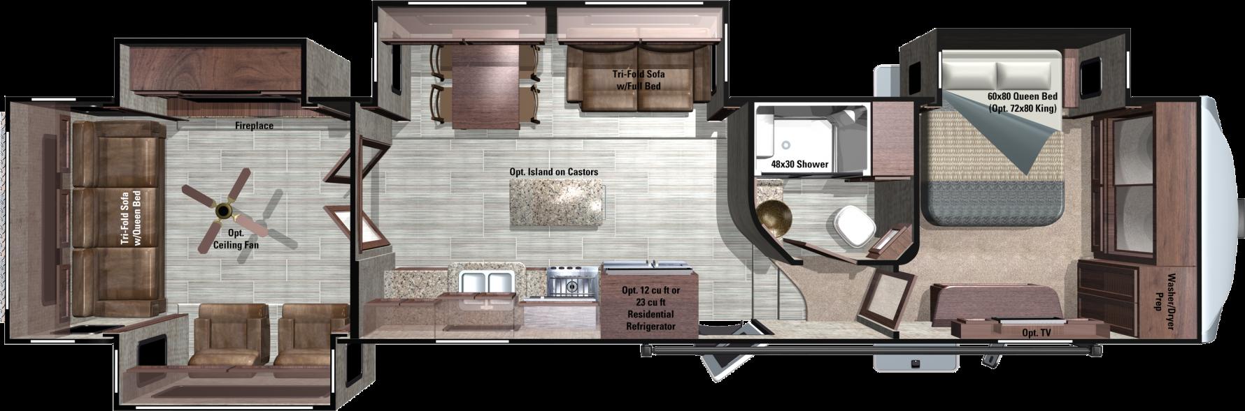 RF430RLS Floorplan