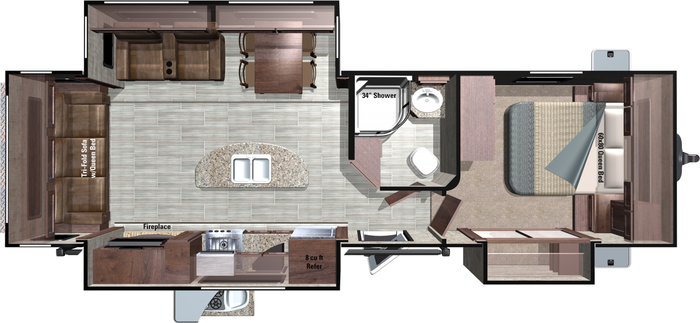 RT292RLS Floorplan
