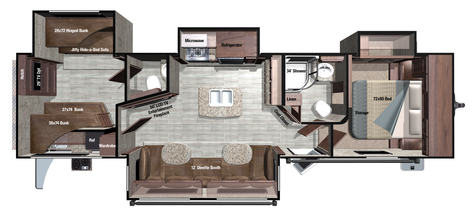 RT328BHS Floorplan