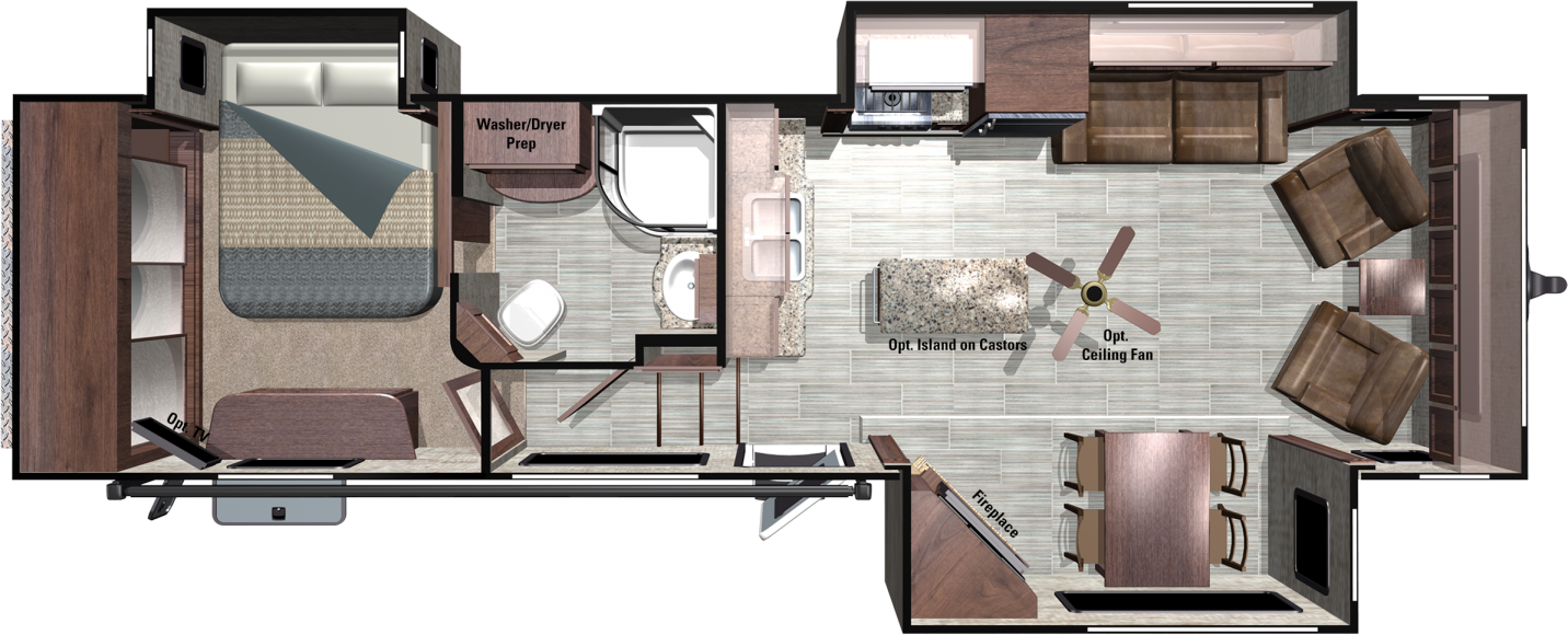 RT340FLR Floorplan