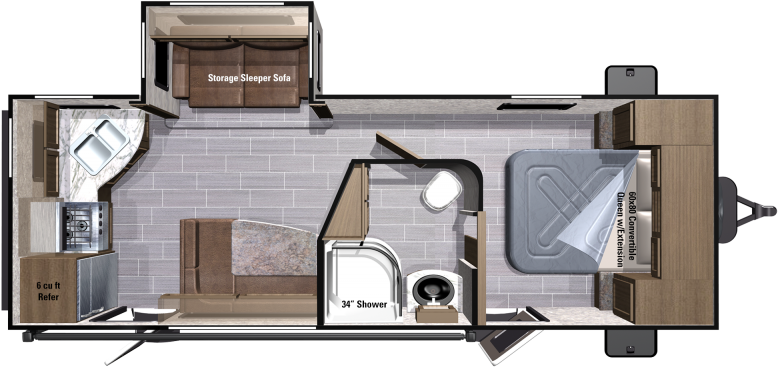 UT2310RK Floorplan