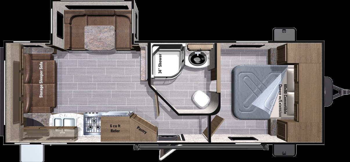 UT2410RL Floorplan