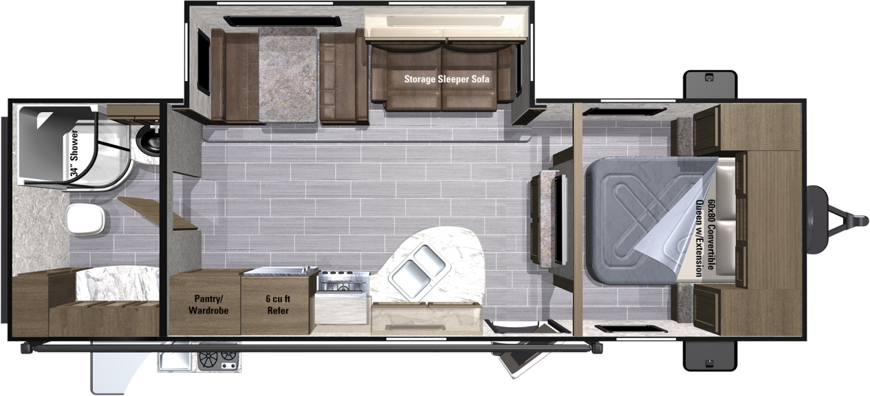 UT2604RB Floorplan