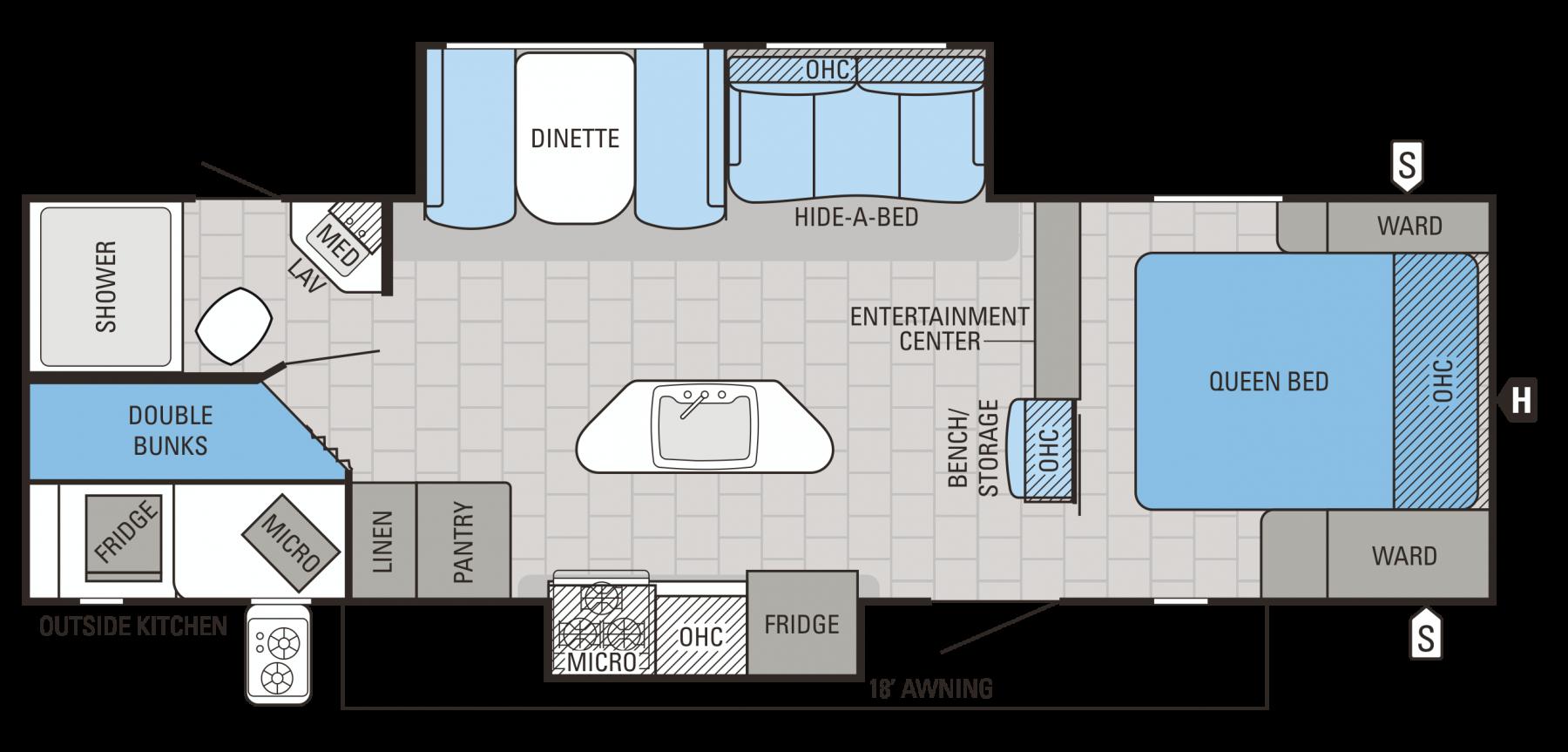 28BHKS Floorplan