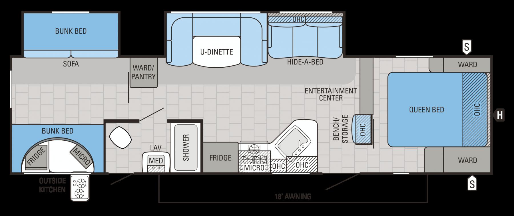 32DSBH Floorplan