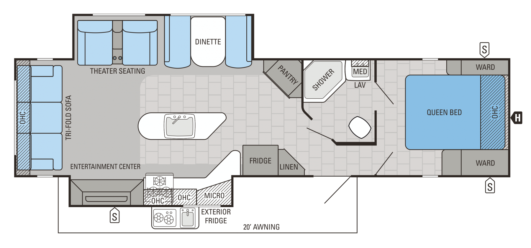 33RSKS Floorplan
