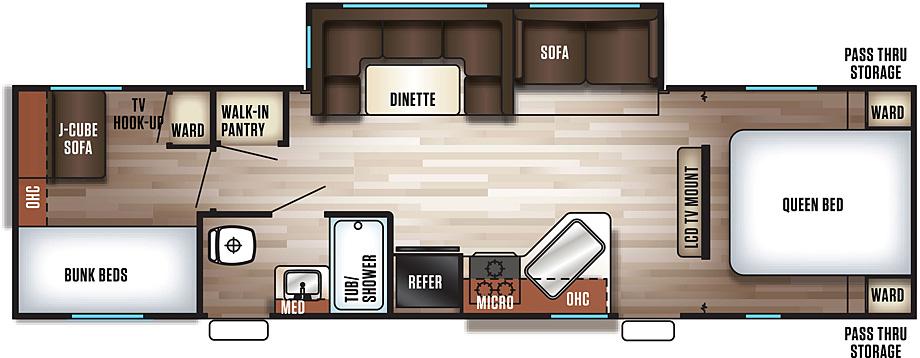 284RJ - Floorplan