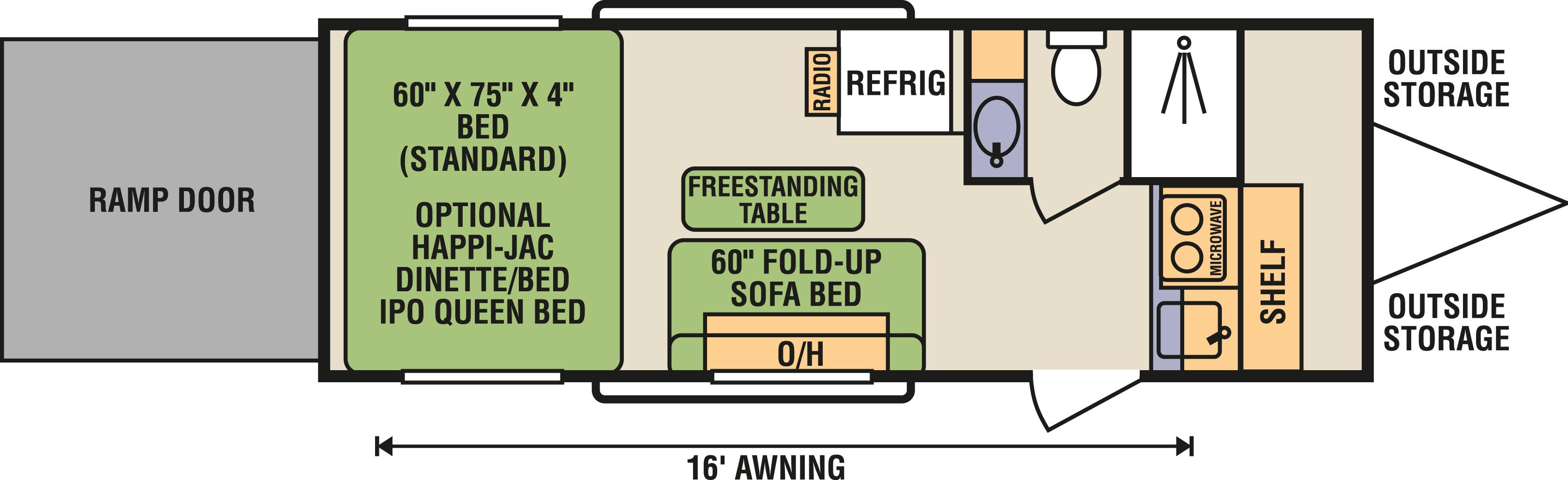 7x20HJ - Floorplan