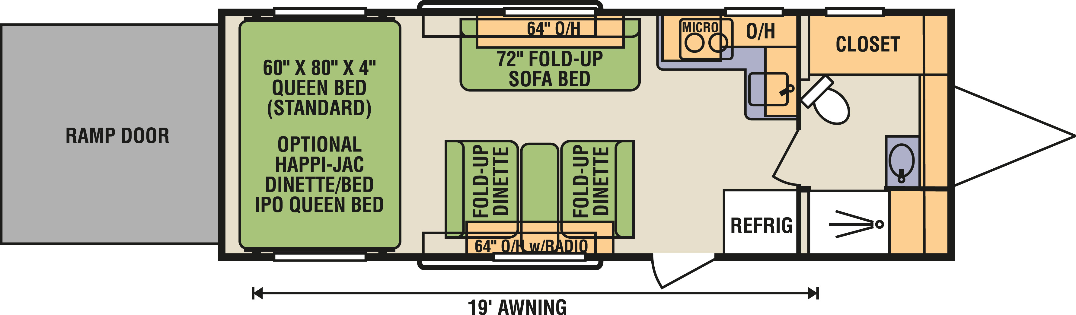 8.5x24FBA - Floorplan