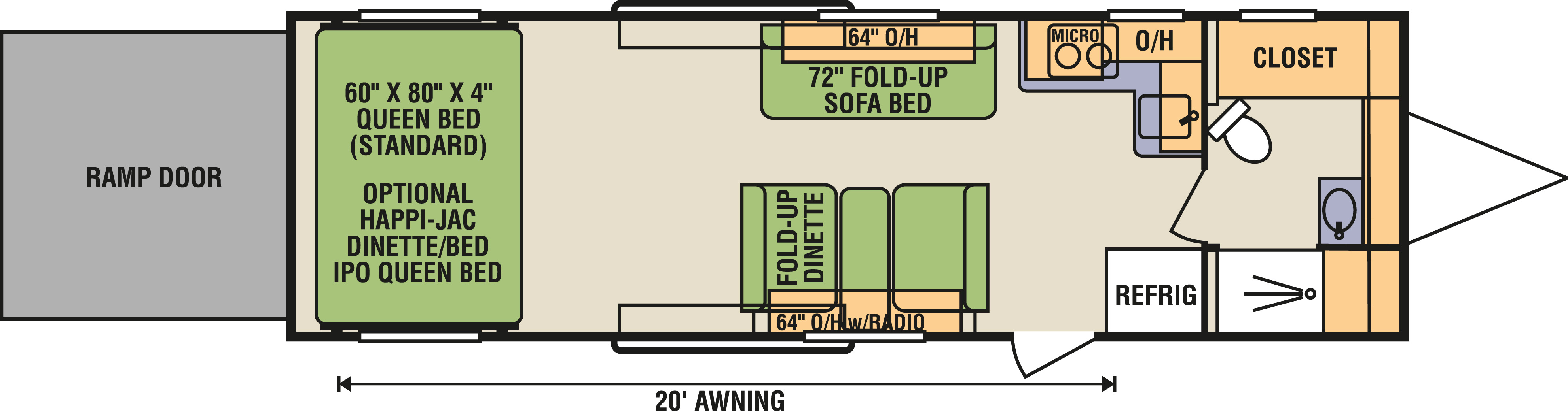 8.5x28FBA - Floorplan