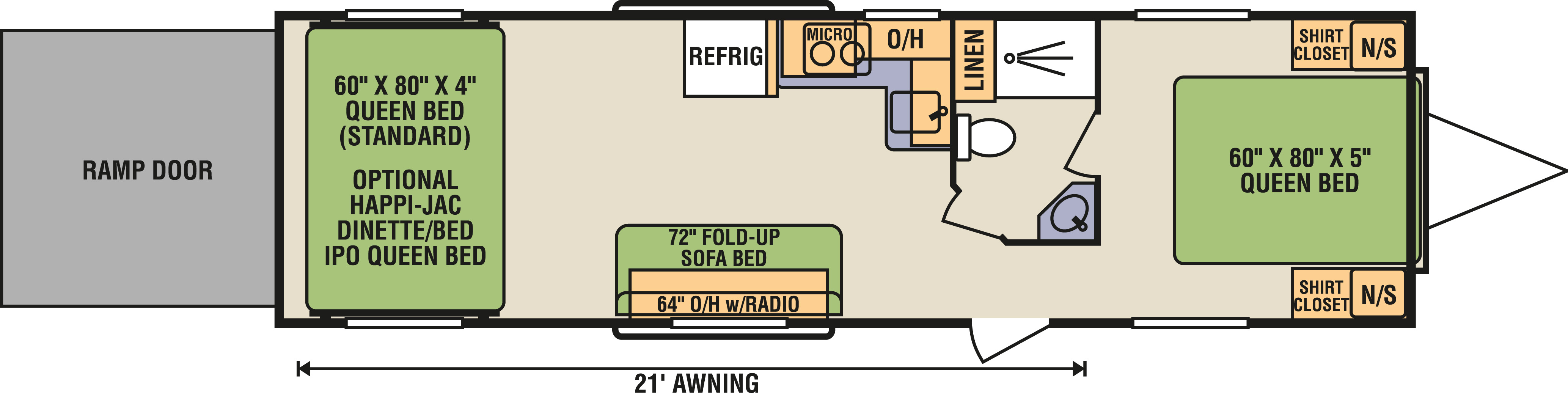 8.5x30FBR - Floorplan