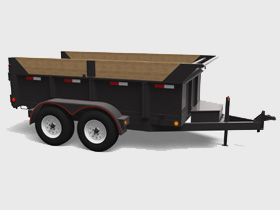 Heavy Duty - 9900 LBS GVWR - Floorplan