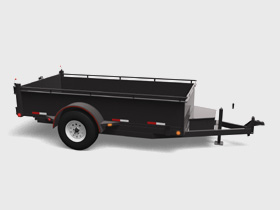Single Axle - 5200 LBS GVWR - Floorplan