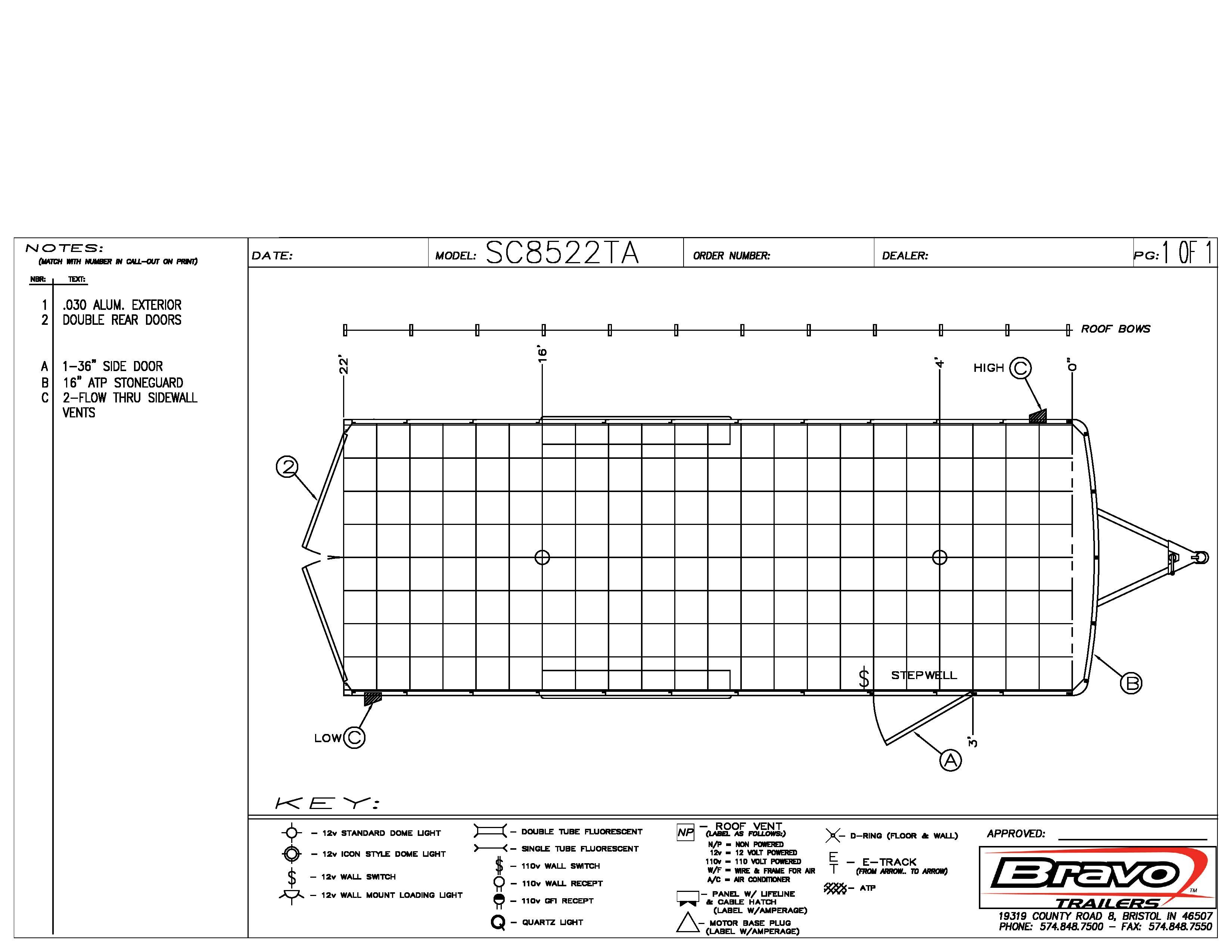 8.5X22 - Floorplan