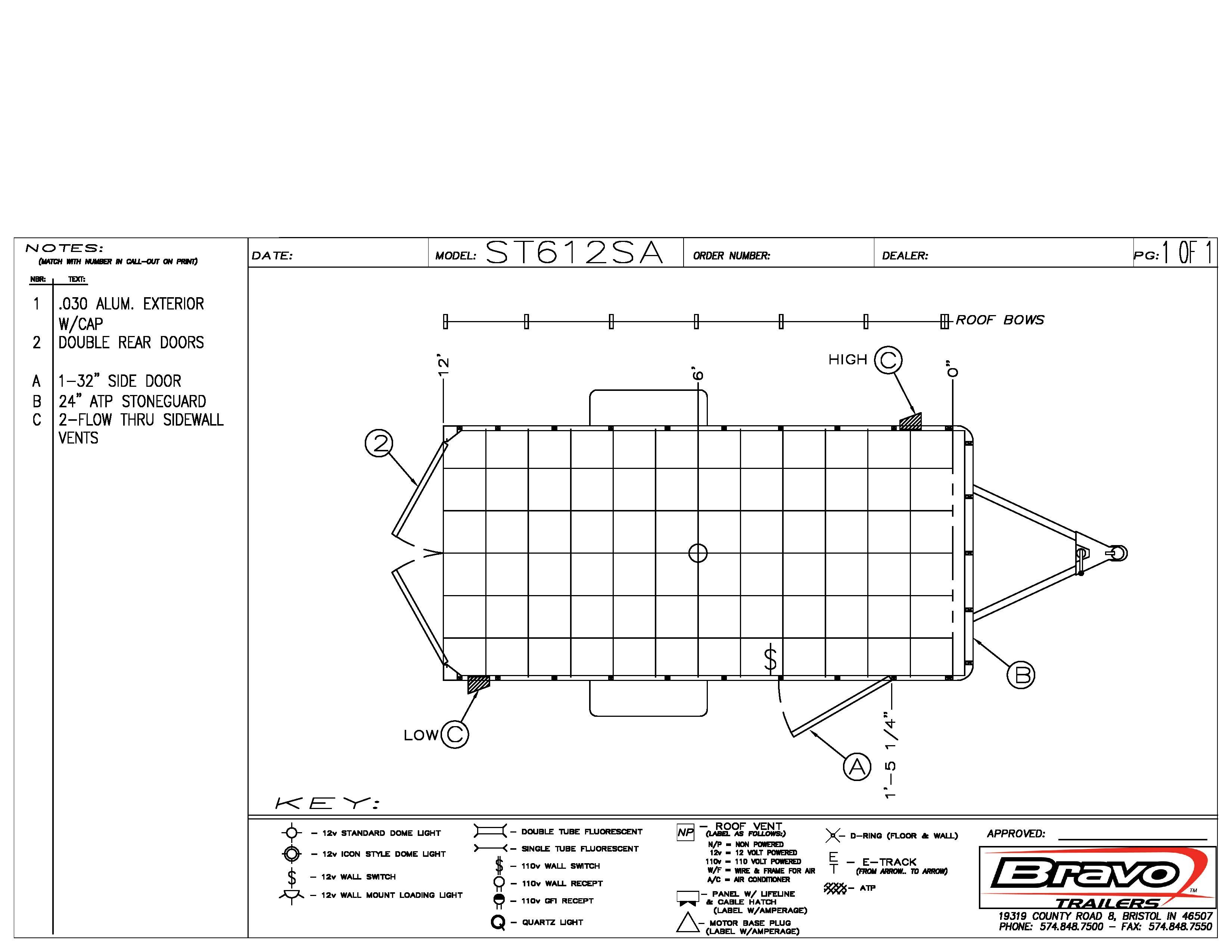 6X12 - Floorplan