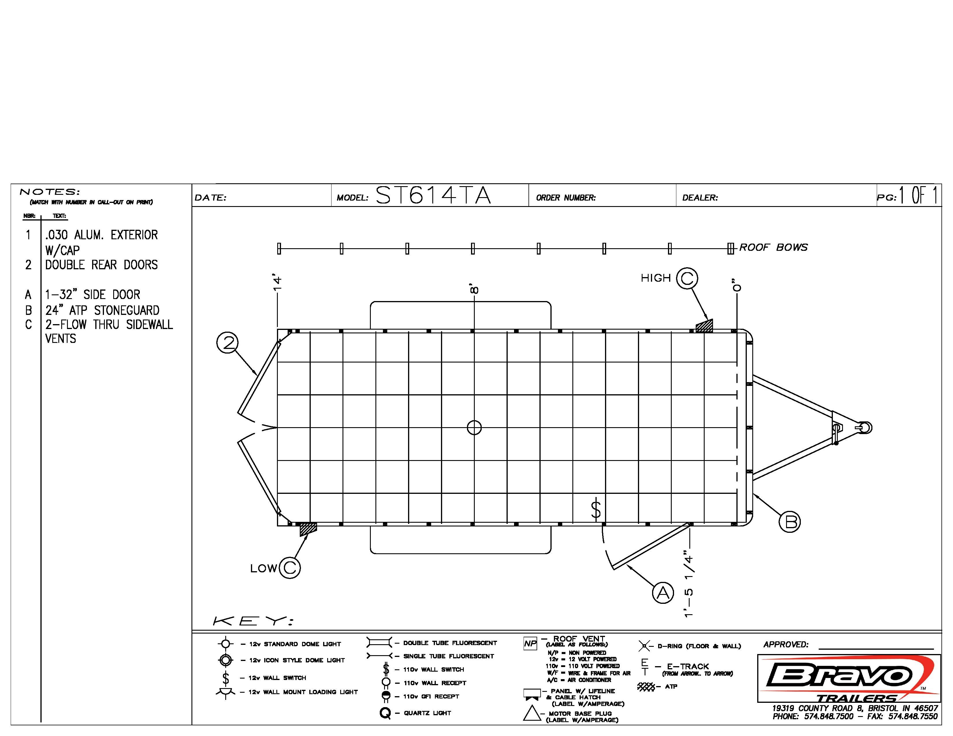 6X14 - Floorplan