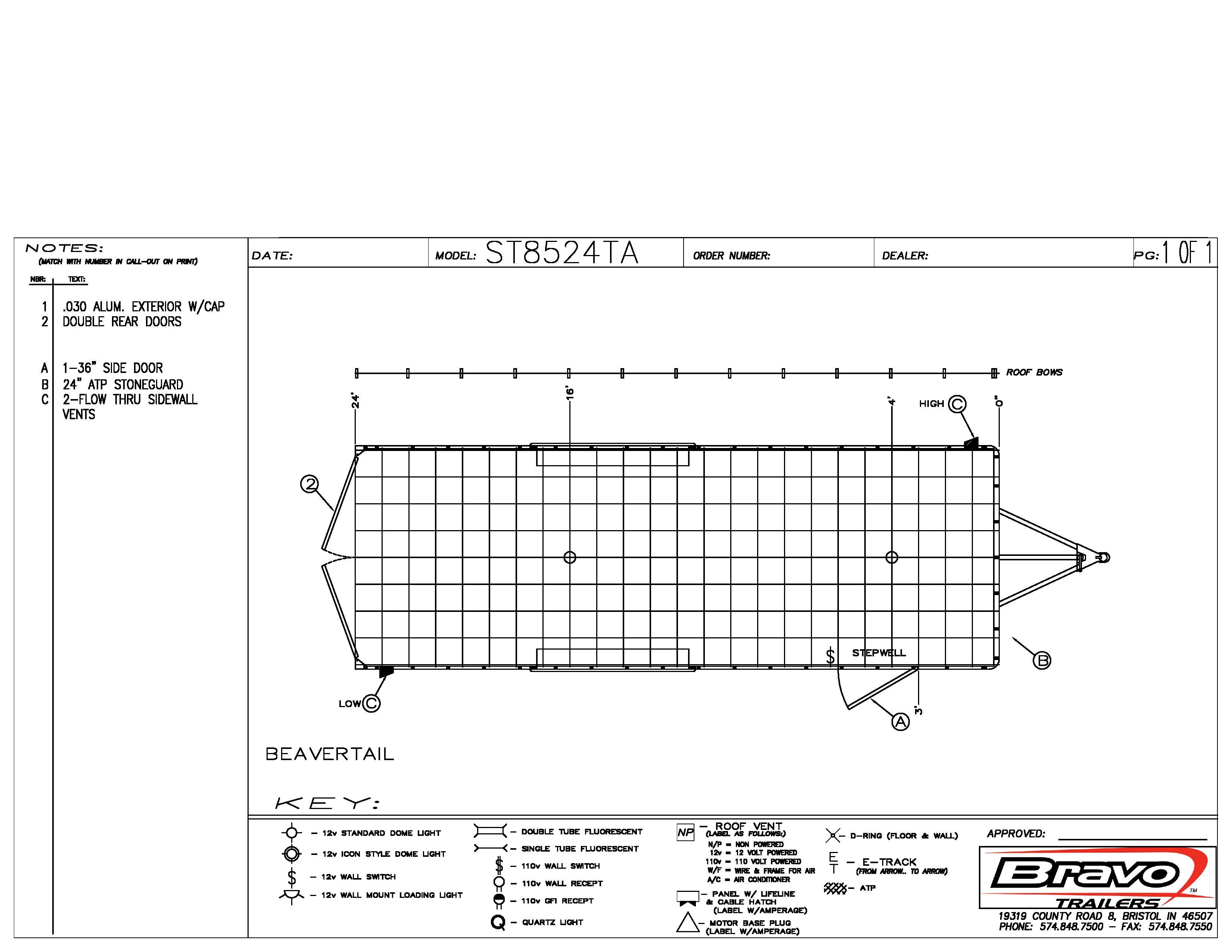 8.5X24 - Floorplan