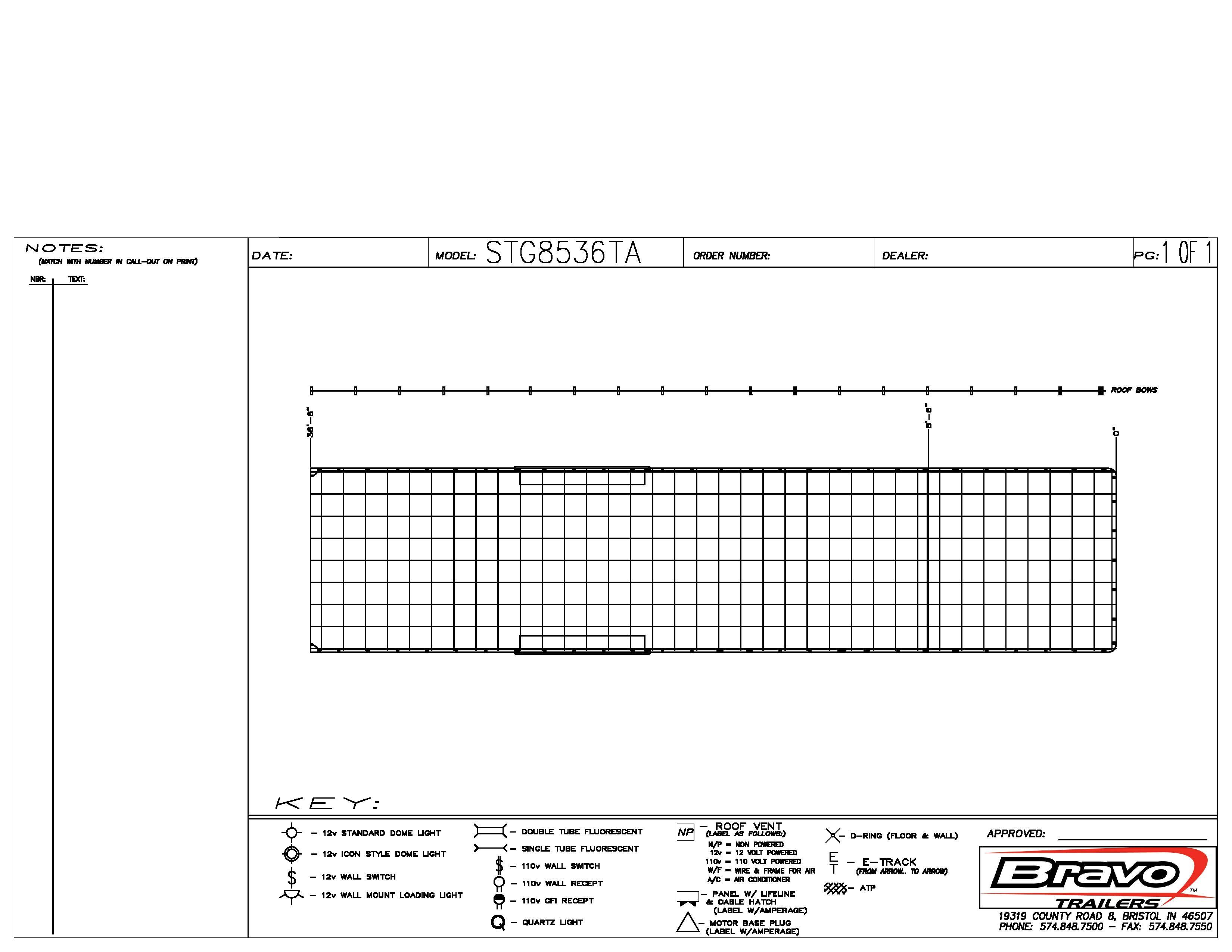 8.5X36 - Floorplan