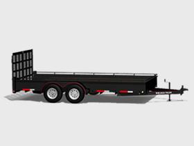 Tandem - 14000 LBS GVWR - Floorplan