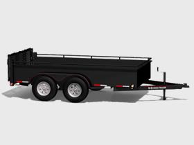 Mini Tandem - 4400 LBS GVWR - Floorplan