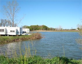 Great Escape RV Pond