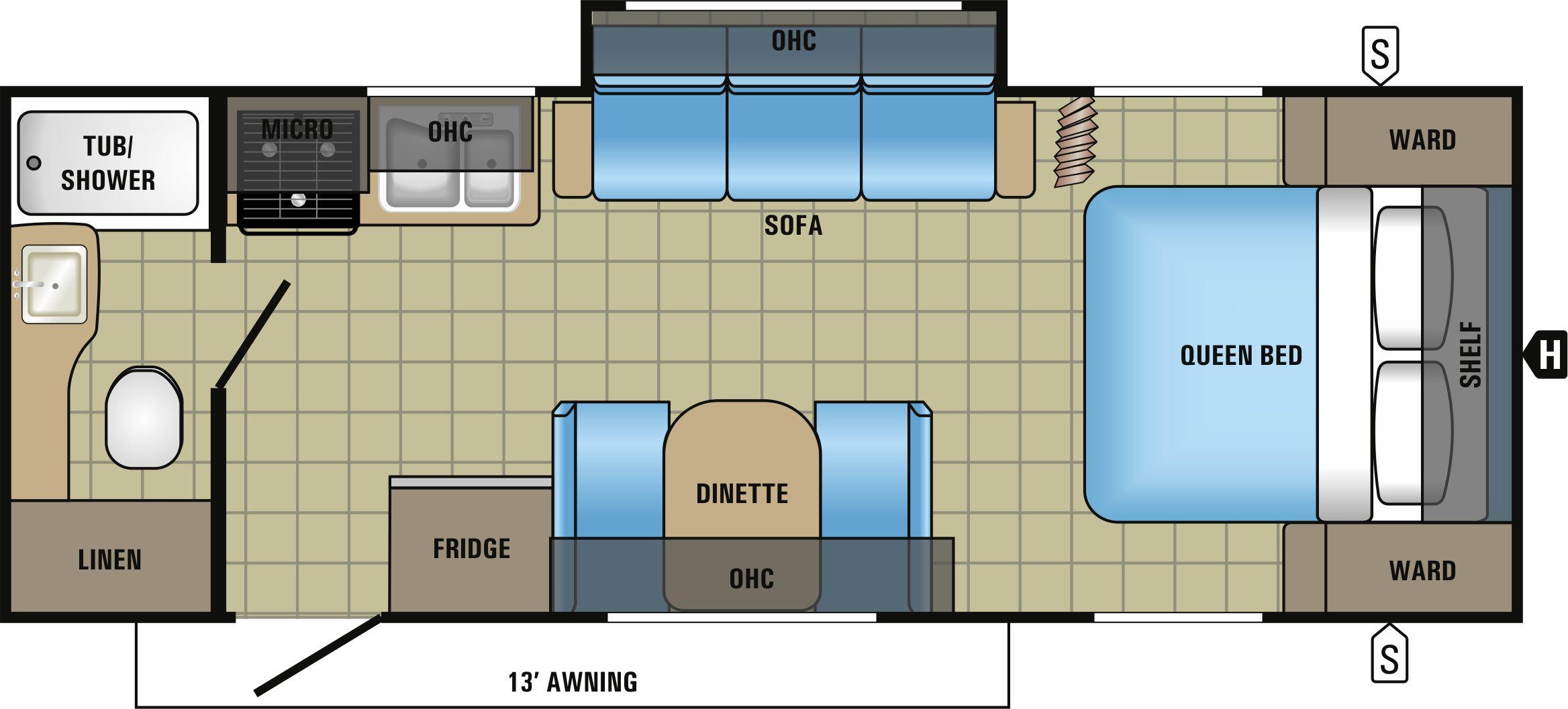 22FQSW Floorplan