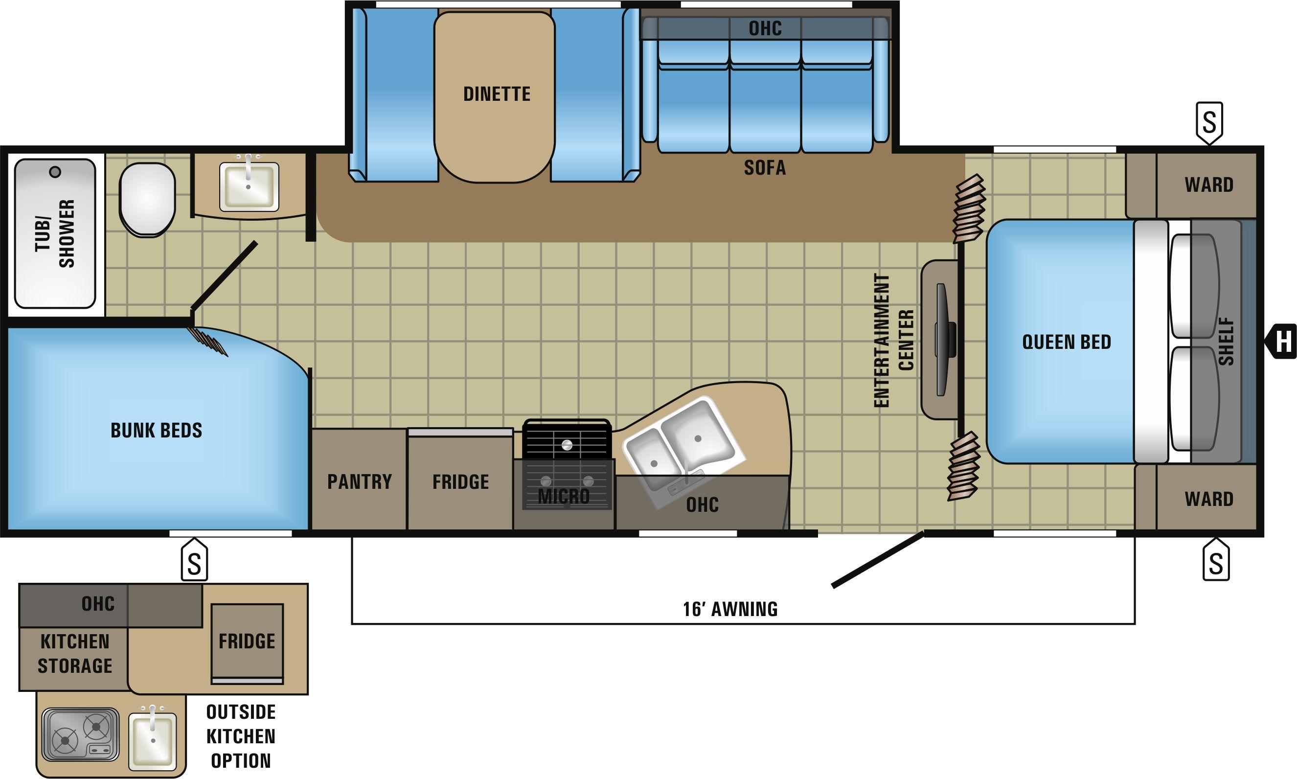 25BH Floorplan