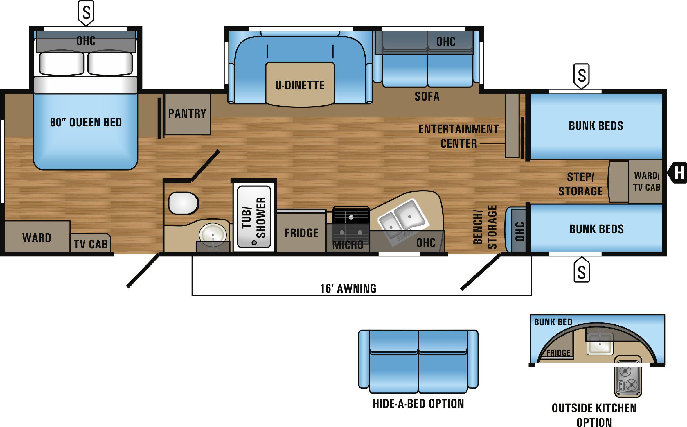 31QBDS Floorplan