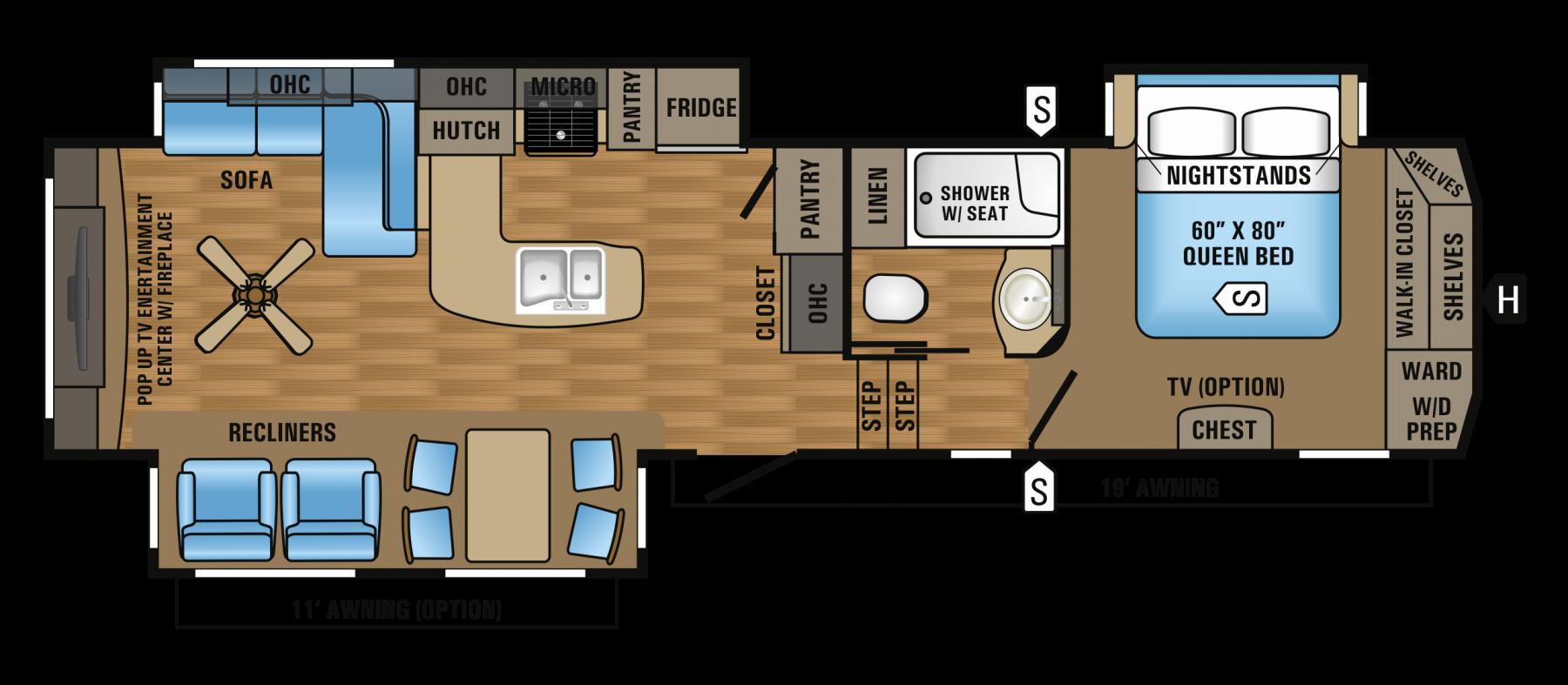 327CKTS Floorplan