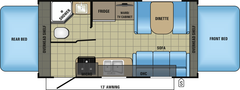 X19H Floorplan
