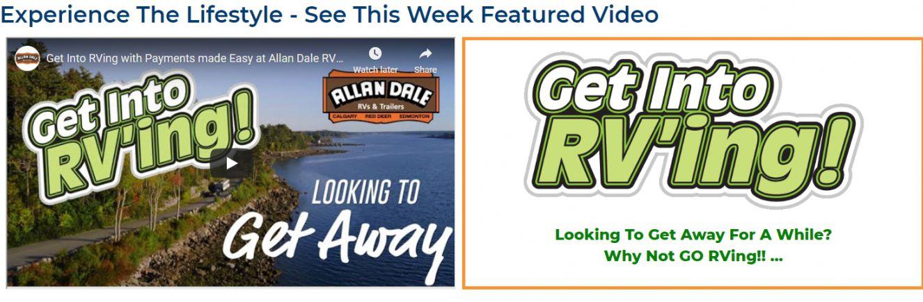 get into RVing - Slide Image