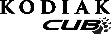 Kodiak Cub Travel Trailer Logo