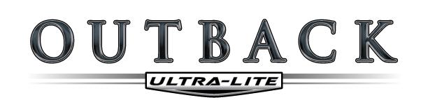 Outback Ultra Travel Trailer Logo