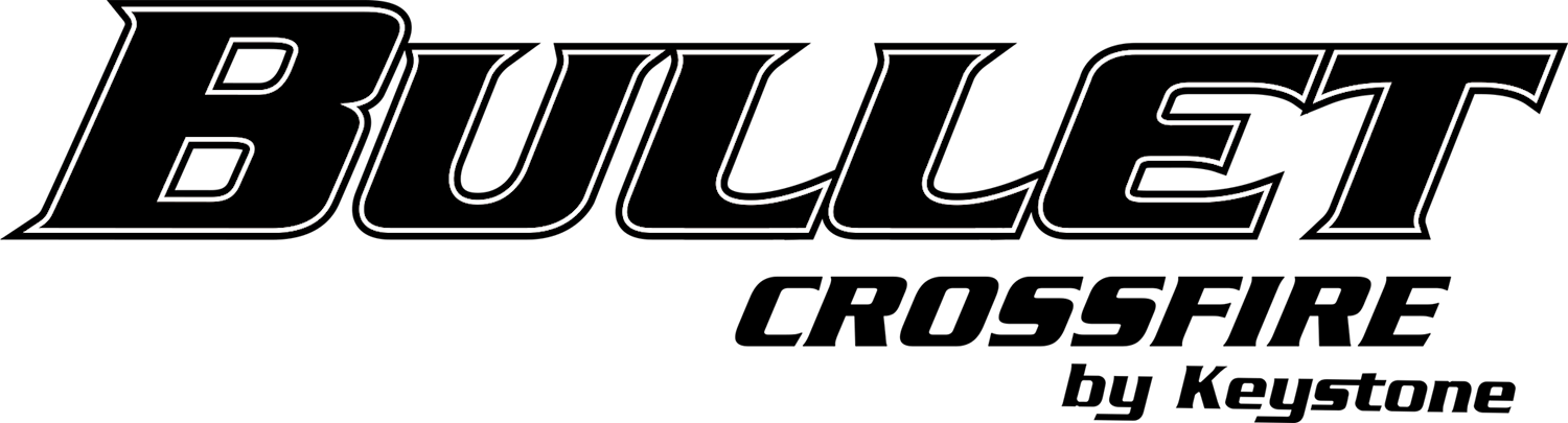 Bullet Crossfire Travel Trailer Logo