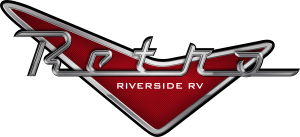 Retro Travel Trailer Logo