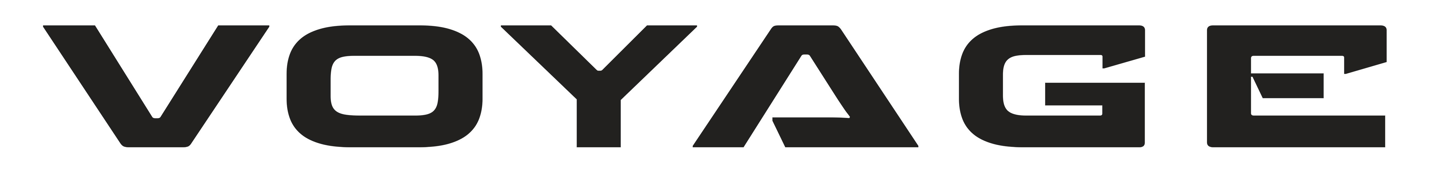 Voyage Travel Trailer Logo